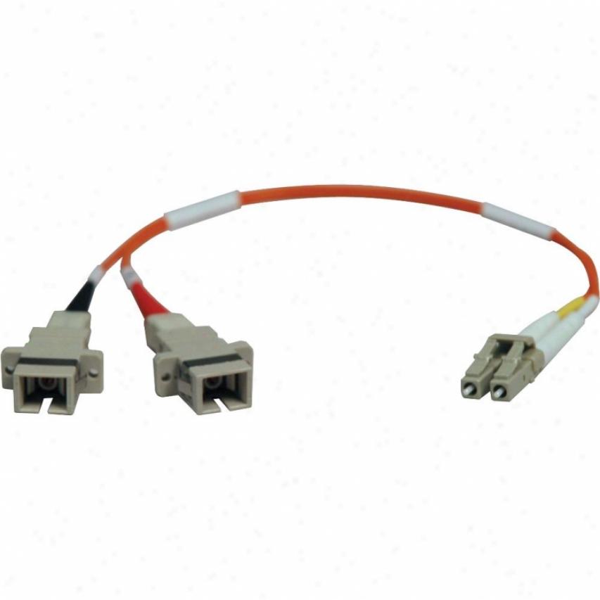 Tripp Lite 1ft Lc/sc 62.5/125 Fiber Adapt