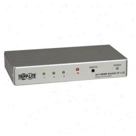 Tripp Lite 3-port Hdmi Switch Remote V1.3