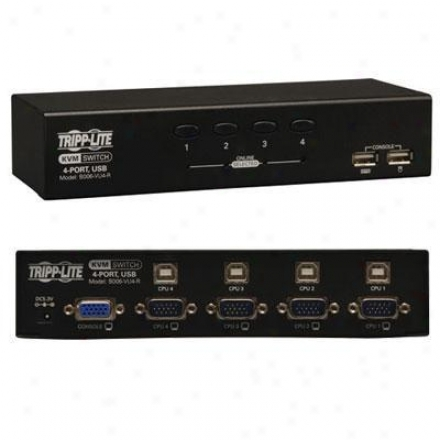Tripp Lite 4-port Usb Kvm Switch