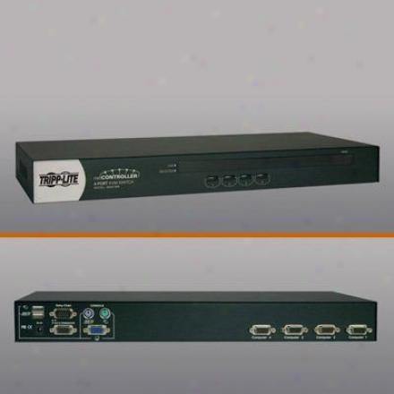 Triipp Lite 4-port Usb/ps2 Kvm Switch
