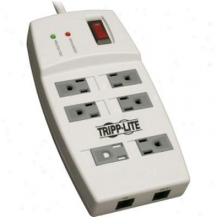 Tripp Lite 6 Outlet Rj45 1080j 6ft Cord