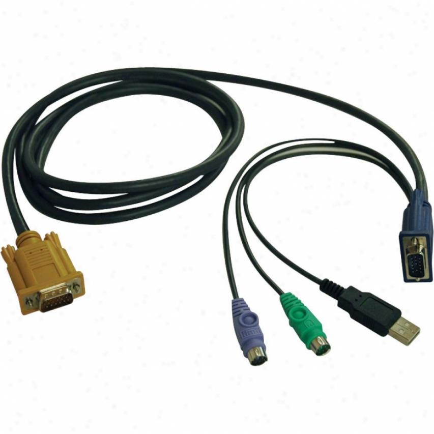 Tripp Lute 6ft Usb/ps2 Kvm Cable Kit