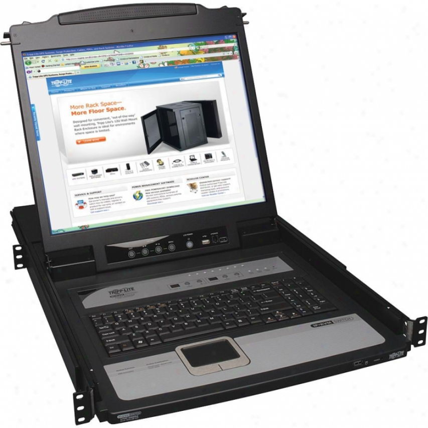 "Tripp Lite 8 Port Kvm Switch 19"" Lcd"