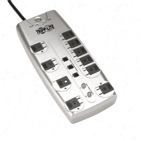 Tripp Lite Tlp1008teltv Protect It Surge Suppressor