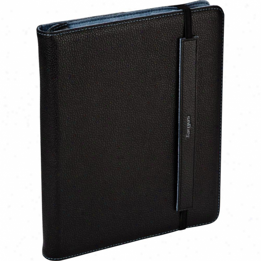 Truss Leather Case/stand For Ipad 1 & Ipad 2 Thz06103us - Black/blue