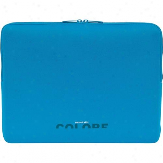"Tucano Second Skin Laptop Sleeve For 14.1"" Widescreen Pc Bf1c4b - Blue"