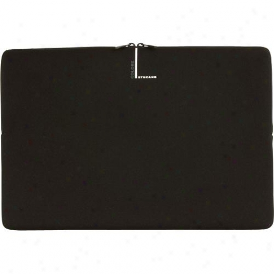 "Tucano Second Skin Laptop Sleeve Because of 14.1"" Widescreen Pc Bfc14 - Black"