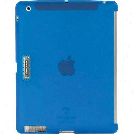 Tucano Transparent Form Fitting Snap-on Back Cover For Ipad 2 - Sky Dismal