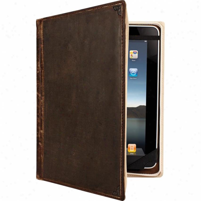 Twelve South Bookbook Hardback Leather Ipad Case - Brown