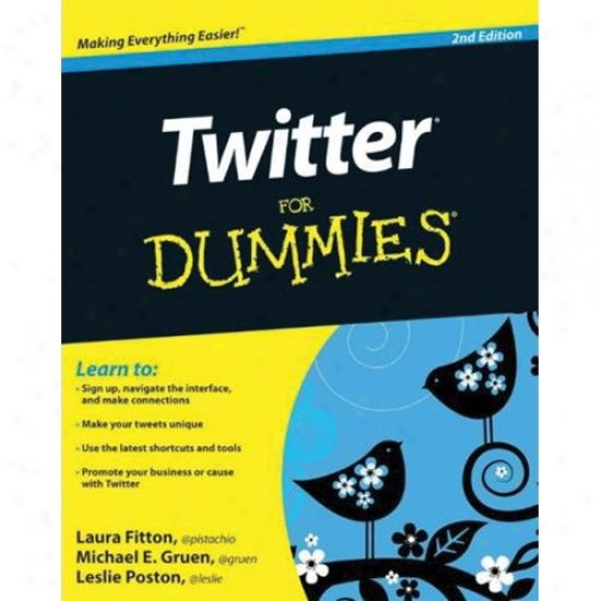 Twitter For Dummies - 2nd Edition