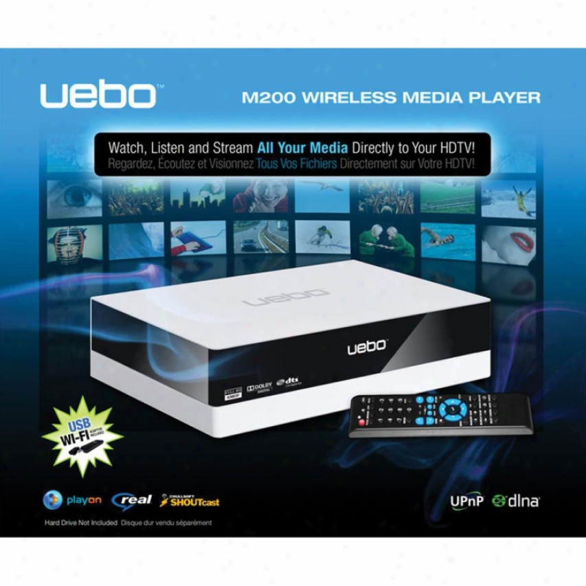 Uebo M200 1080p Wireless Hd Media Player