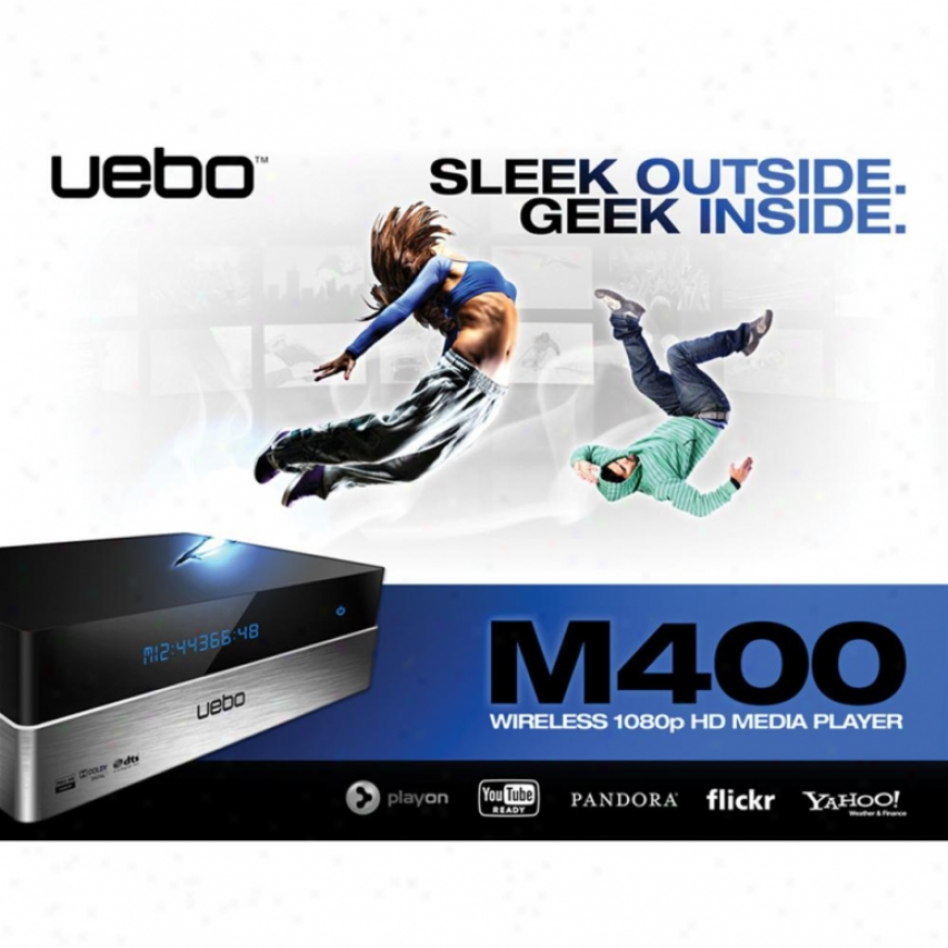 Uebo M400 1080p Wifi Hd Media Player
