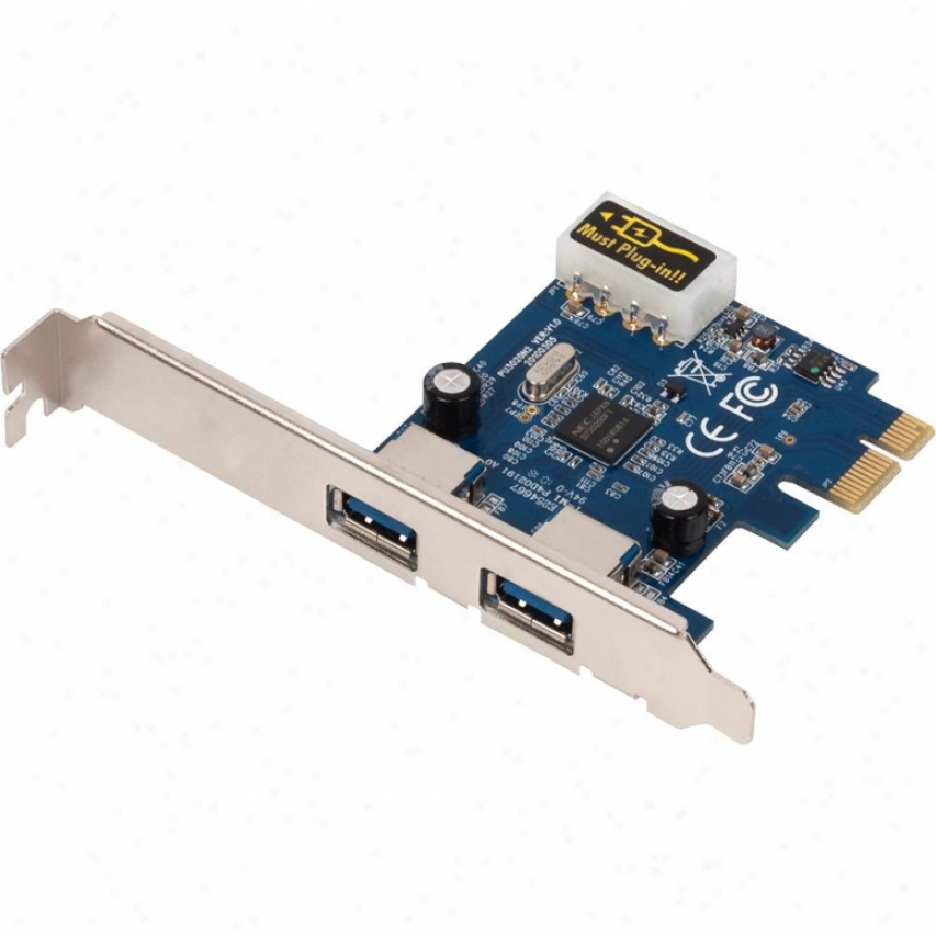 Us Robotics 2-port Usb 3.0 Pci Speedy conveyance Crd