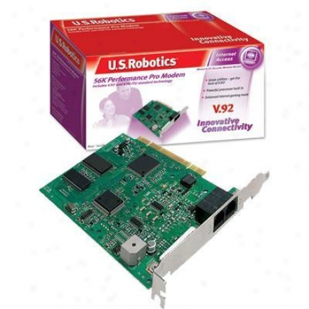 Us Robotics V.92 Performance Pro Rohs