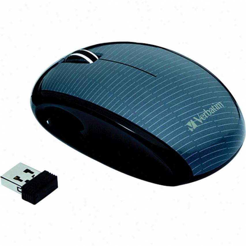 Verbatim Nano Mouse - Mercury Graphite/