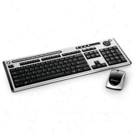 Verbatim Wireless Keyboard/mouse Blk