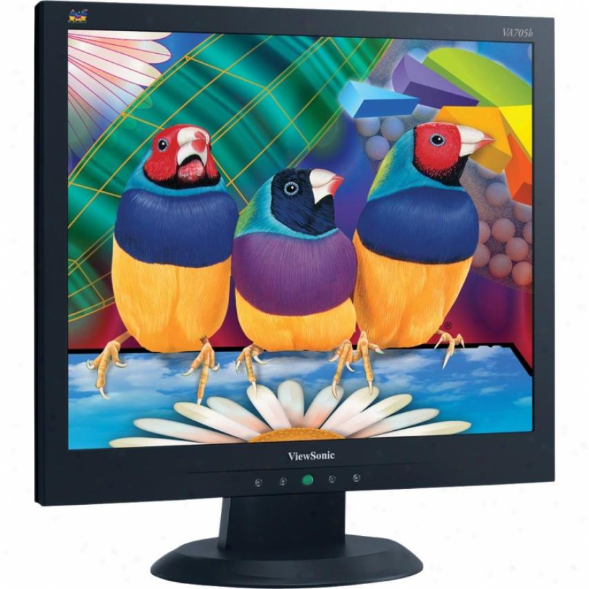 """Viewsonic 17"""" 1280x1024 Lcd Black"""