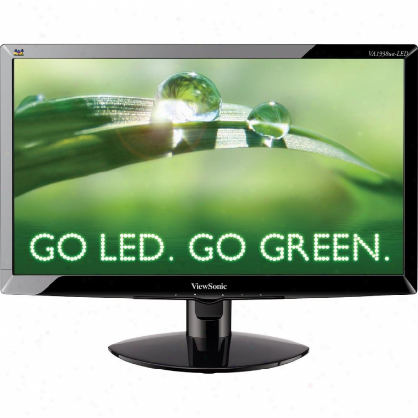 "Viewsonic 19"" Wide Led Adviser"