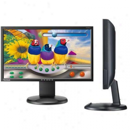 "Viewsonic 20"" Ergonomic Lcd Monitor"