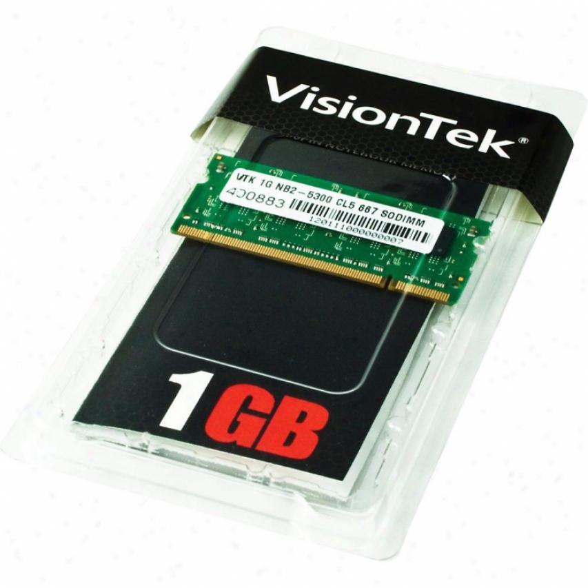 Visiontek 1gb Nb2-5300 Cl5 667 So Retail
