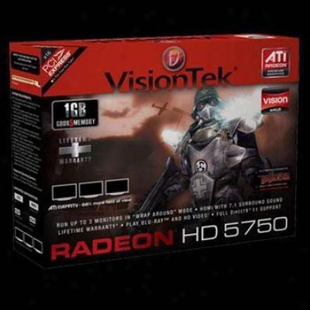 Visipntek Radeon Hd 5750 1gb 128-bit Gddr5 Pcie 2.0 X16 Video Card - 900301
