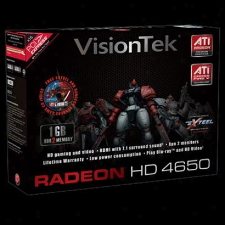 Visiontek Radeon Hd4650 1gb Ddr2 Pci Express 2.0 Video Card