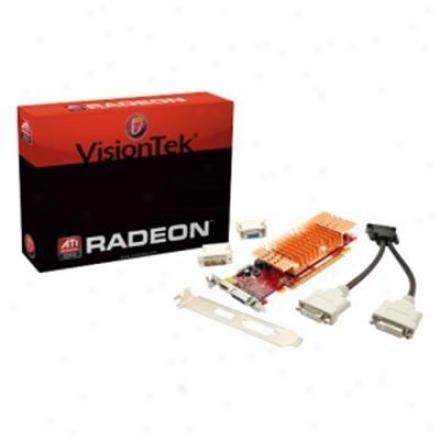 Visiontek Radeon Hd5450 512mb Ddr3 Pci Express 2.0 Video Card