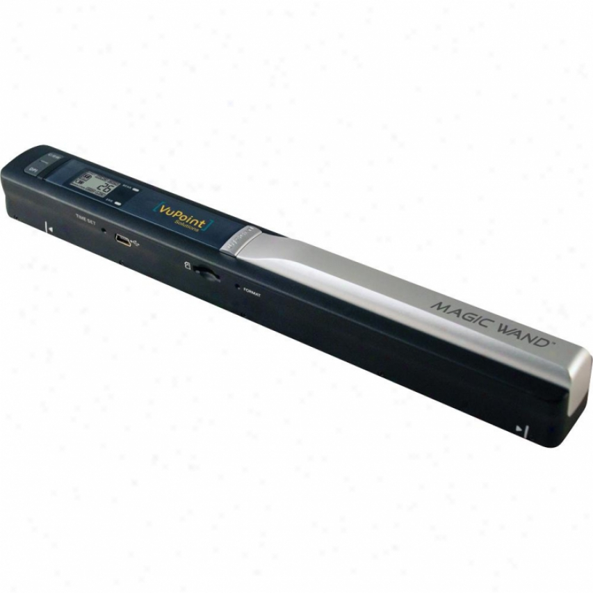 Vupoint Solutions Magic Wand Portable Scanner - Black - Pds-st415-vp