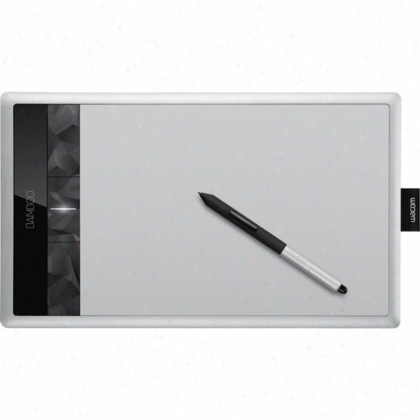Wacom Cth670 Bamboo Create Pen& amp; Touch Tablet- Medium