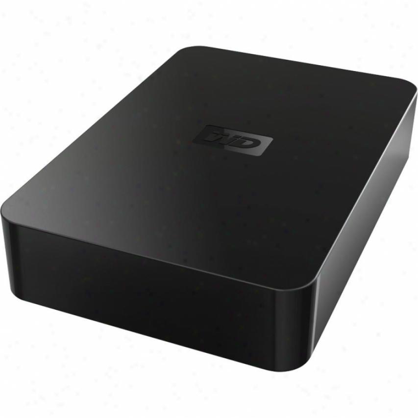 "Western Digital 750gb Elements Portable Usb 2.5"" Hard Drive"