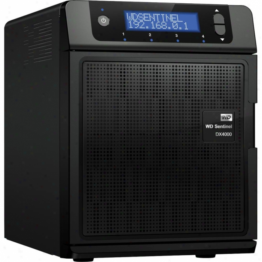 Wetsern Digital Sentinel Dx4000 6tb Small Office Storage Server