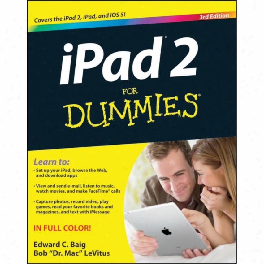 Wiley Ipad 2 For Dummies - 3rd Edition