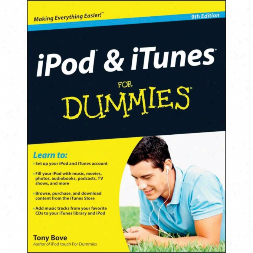 Wiley Ipod And Itunes For Dummies - 9th Edition