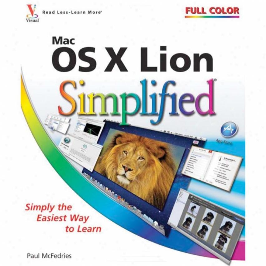 Wiley Mac Os X Lion Simplified - Paul Mcfefries