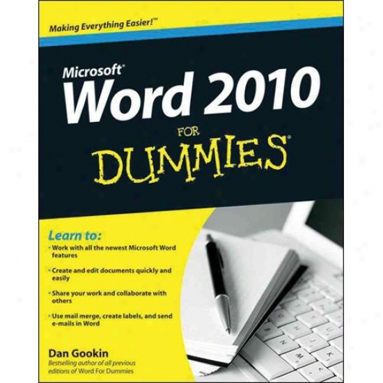 Wiley Microsoft Word 2010 For Dummies By Dan Gookin 0470497723