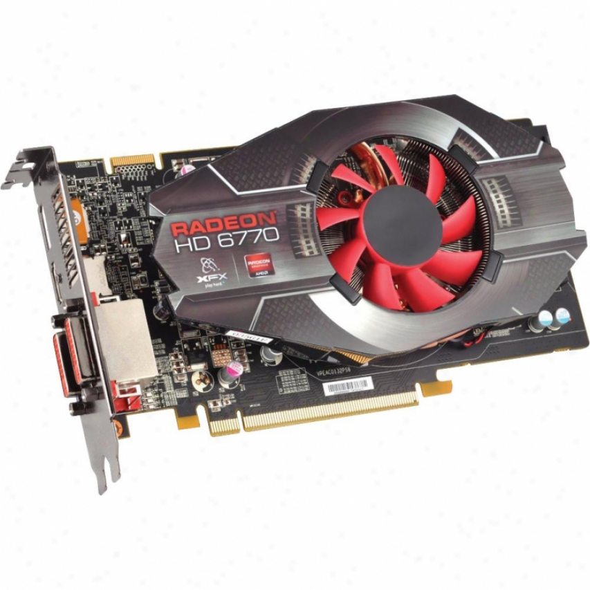 Xfx Amd Radeon Hd-6770 850m Pcie Graphics Video Card