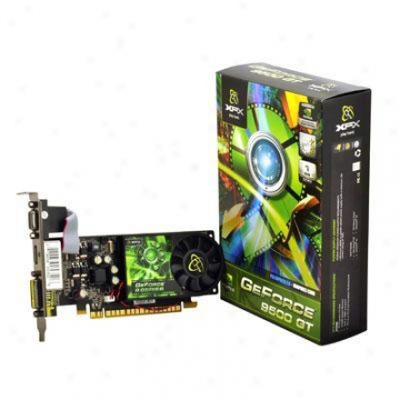 Xfx Geforce 9500 Gt 1gb Pcie 2.0 Video Card - Pv-t95g-znf2