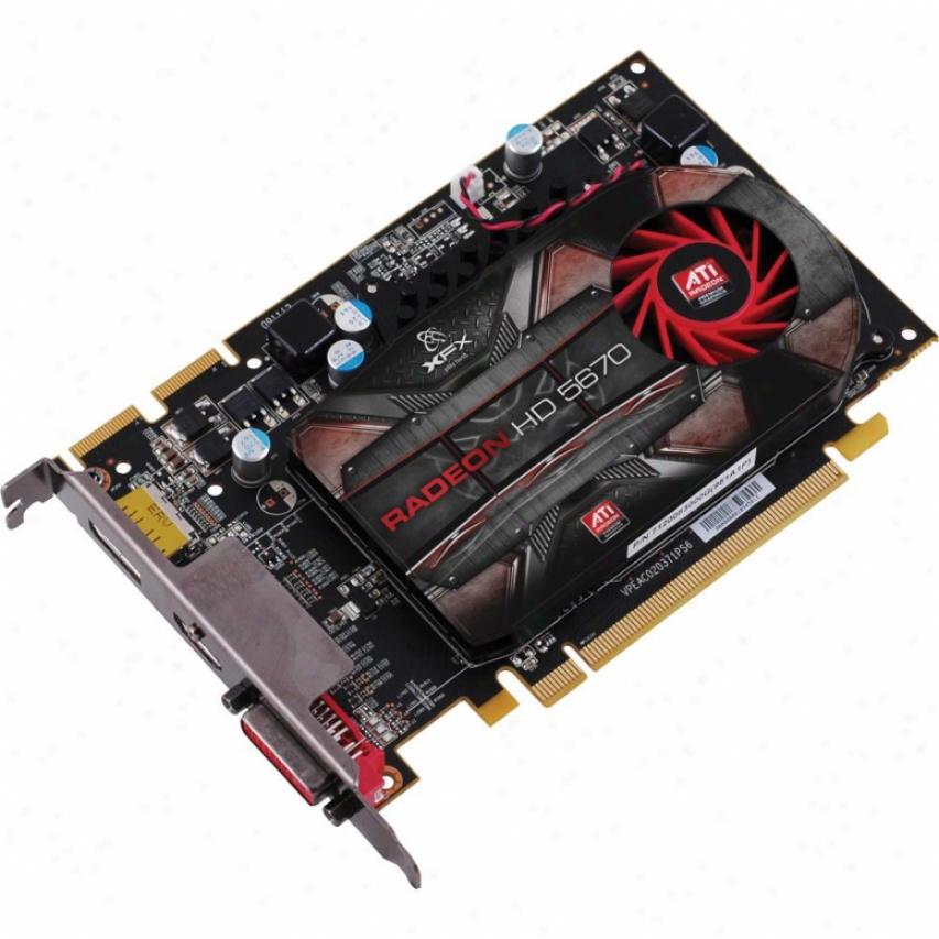 Xfx Radeon Hd5670 1gb Ddr3