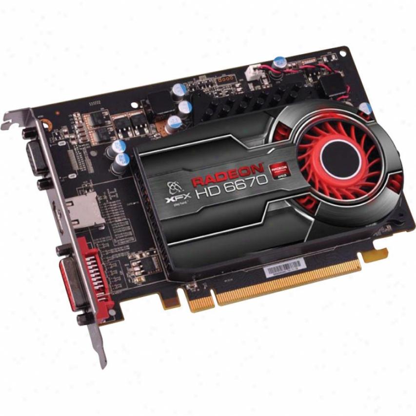 Xfx Radeon Hd6670 1gb Ddr3