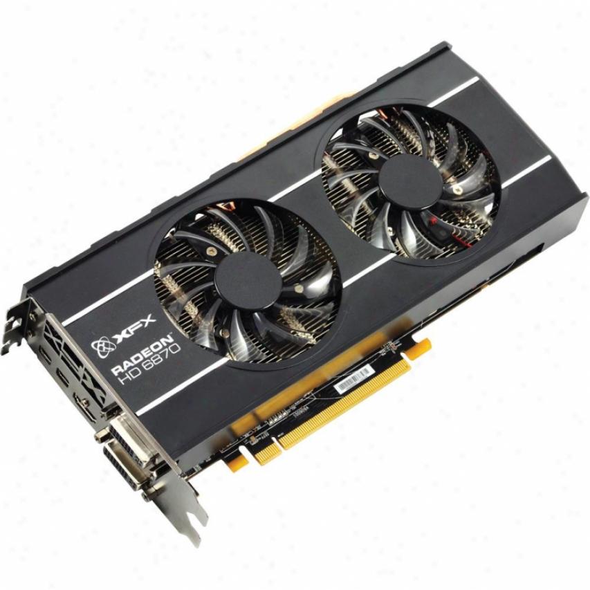 Xfx Radeon Hd6870 1gb Ddr5 Dual