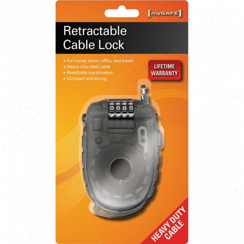 Xitel Retractable Cable Lock - Clreteng