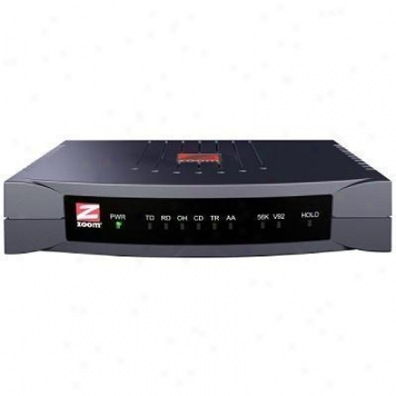 Zoom Telephonics V.90 External Serial Modem Pc