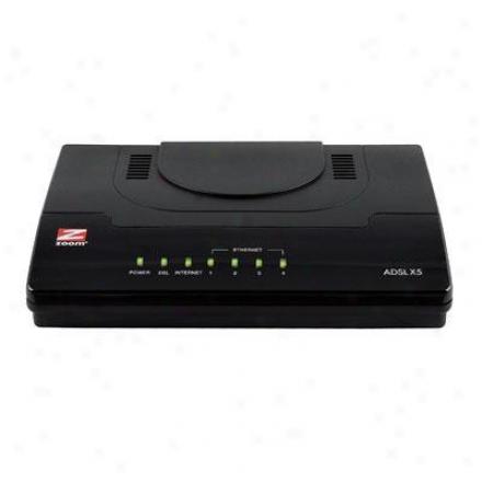 Zoom Telephonics X5 Adsl 2/2+ Modem/router/gw