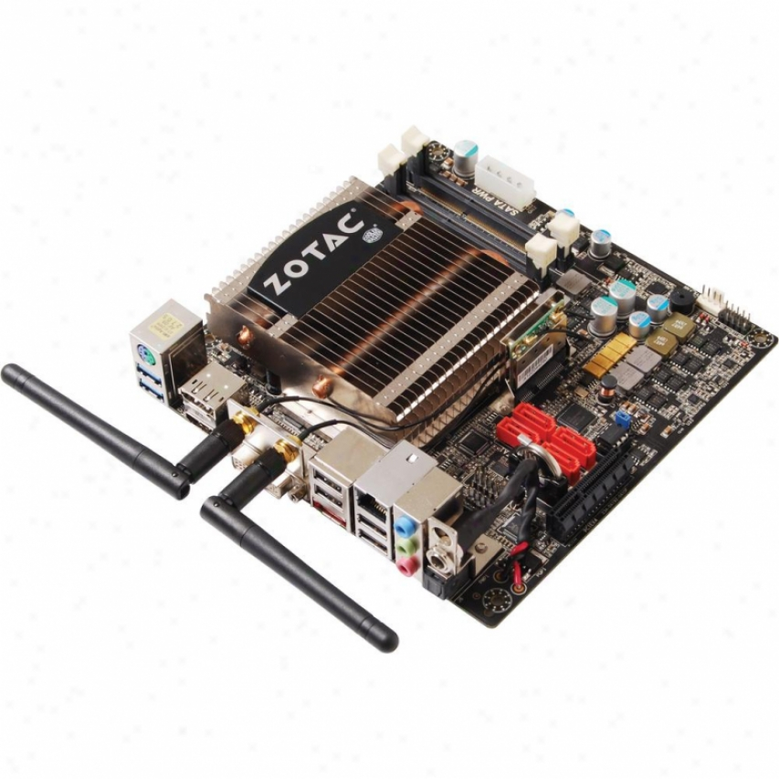 Zotac Fusion350-b-u Amd E-350 Apu Wifi Mini-itx Motherboard