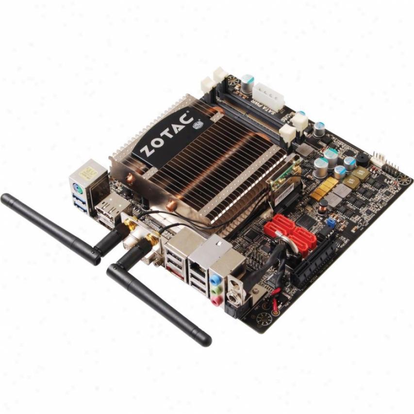 Zotac Fusion350-b-u Amd E-350 Apu Wifi Mini-itx Motherboard