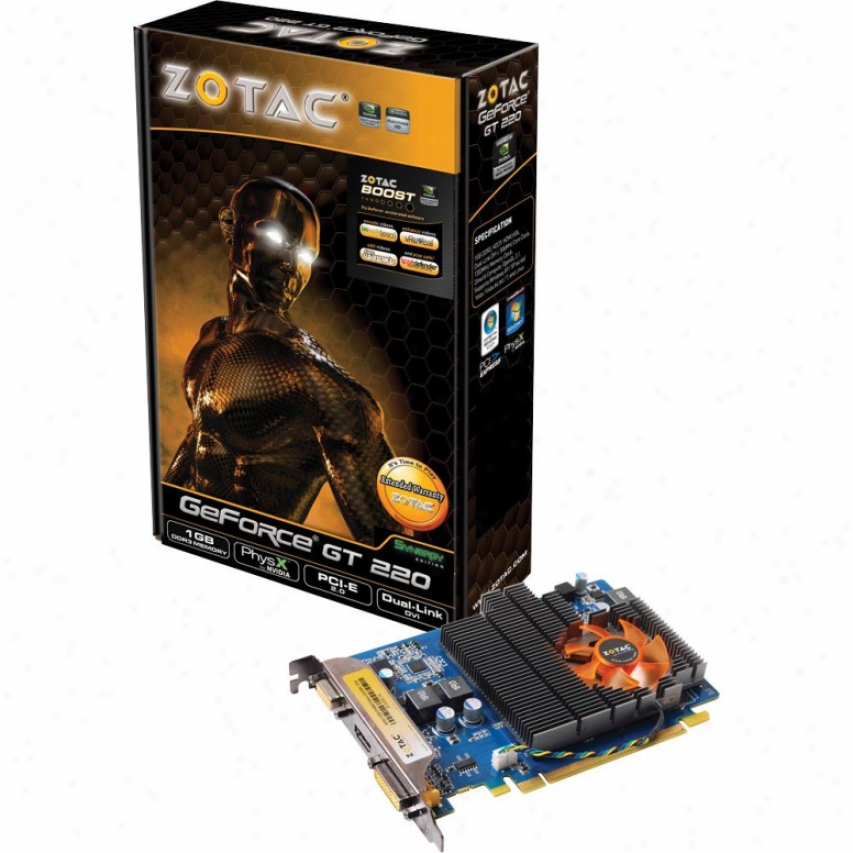 Zotac Geforce Gt220 Synergy 1gb Ddr3