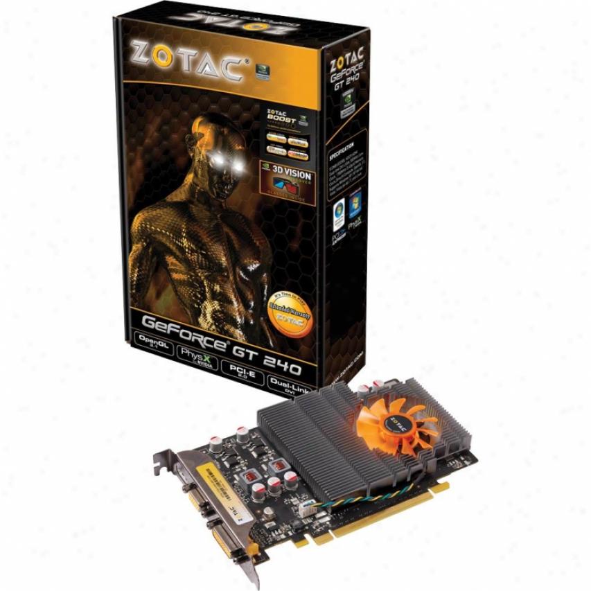 Zotac Geforce Gt240 512mb Gddr5