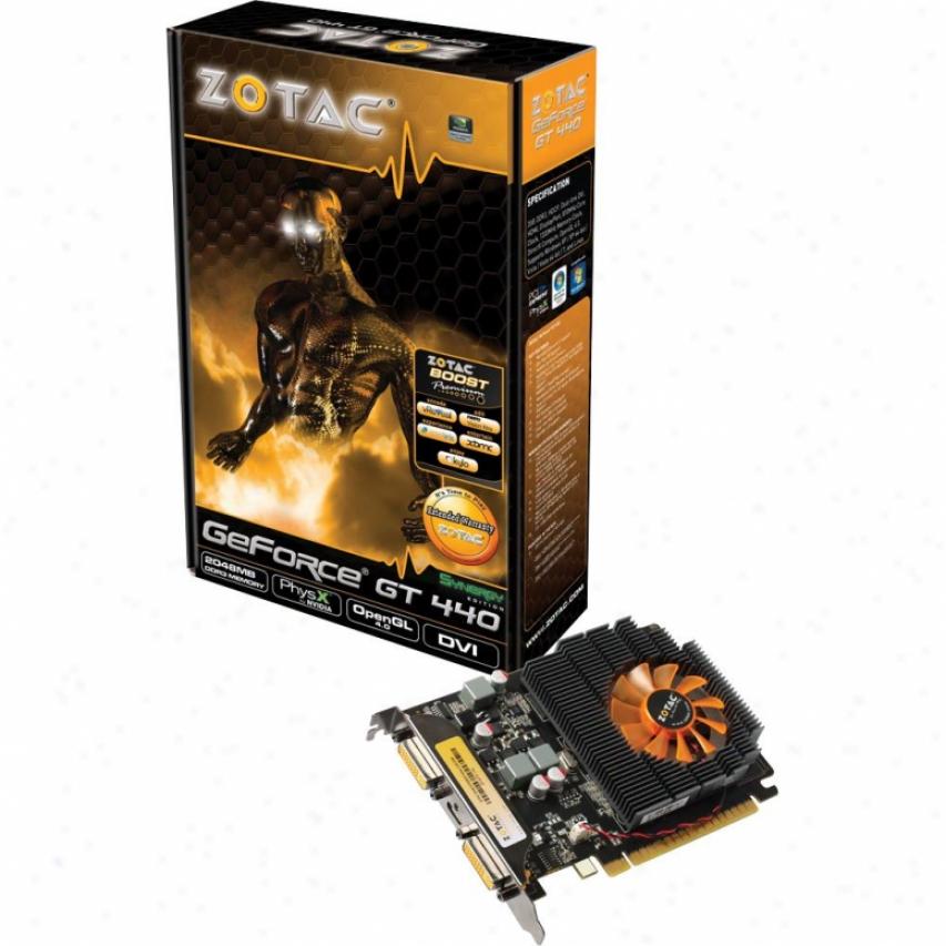 Zotac Geforce Gt440 2gb Ddr3 128bit