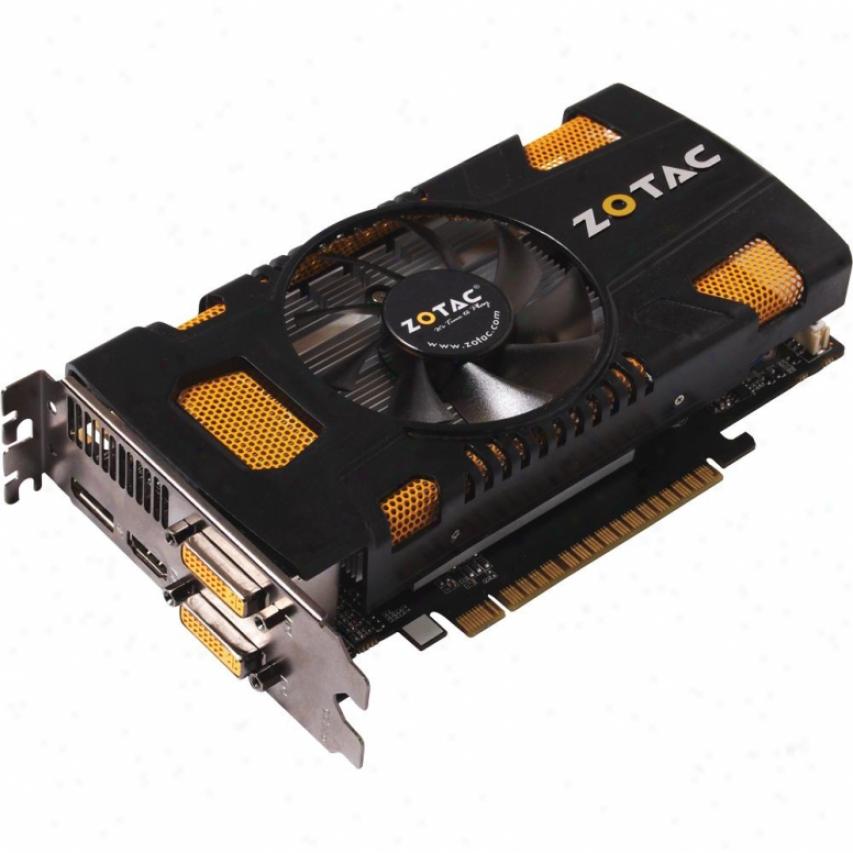Zotac Geforce Gtx 550 Ti 1gb Gddr5 Pci Express 2.0 X16 Video Cadd - Zt-50401-10l