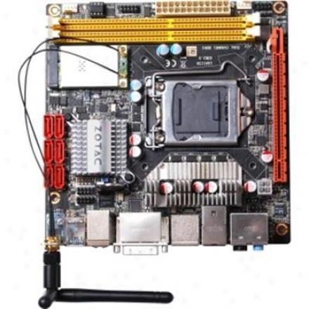 Zotac H55itx-c-e Lga 1156 Intel H55 Wifi Mini Itx Mptherboard